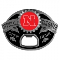 Nebraska Cornhuskers NCAA Bottle Opener Tailgater Belt Buckle