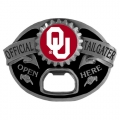 Oklahoma Sooners NCAA Bottle Opener Tailgater Belt Buckle