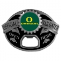 Oregon Ducks NCAA Bottle Opener Tailgater Belt Buckle