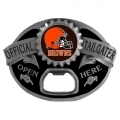 Cleveland Browns NFL Bottle Opener Tailgater Belt Buckle
