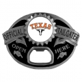 Texas Longhorns NCAA Bottle Opener Tailgater Belt Buckle