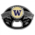 Washington Huskies NCAA Bottle Opener Tailgater Belt Buckle