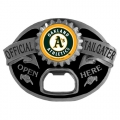 Oakland Athletics MLB Bottle Opener Tailgater Belt Buckle