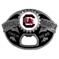 South Carolina Gamecocks NCAA Bottle Opener Tailgater Belt Buckle