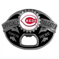 Cincinnati Reds MLB Bottle Opener Tailgater Belt Buckle