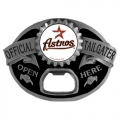 Houston Astros MLB Bottle Opener Tailgater Belt Buckle