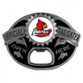 Louisville Cardinals NCAA Bottle Opener Tailgater Belt Buckle