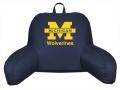 Michigan Wolverines Bedrest Back Pillow
