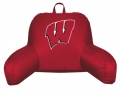 Wisconsin Badgers Bedrest Back Pillow