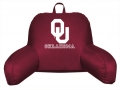 Oklahoma Sooners Bedrest Back Pillow