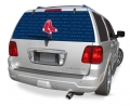 "Boston Red Sox ""New School"" MLB Logo """"Rearz"""" Back Windshield Decal"