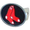 Boston Red Sox MLB Oval Hitch Cover