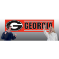 Georgia Bulldogs 8' x 2' Embroidered Party Banner