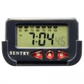 Sentry Jumbo Digital LCD Clock w/ Cradle-FREE SHIPPING