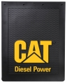 "Caterpillar CAT Diesel Power 24"" x 30"" Semi Truck Mud Flaps/Splash Guards"