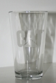 Caterpillar CAT 16oz Beer Drinking Glass