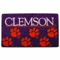 "Clemson Tigers NCAA 18"" x 30"" Welcome Mat"
