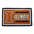 Illinois Fighting Illini NCAA Welcome Mat