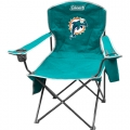 Miami Dolphins NFL Cooler Quad Tailgate Chair