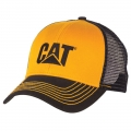 Caterpillar CAT Blue & Yellow Twill Mesh Snapback Cap