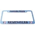 Florida State Seminoles NCAA Chrome 3D License Plate Tag Frame