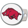 Arkansas Razorbacks Oval Hitch Cover