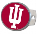 Indiana Hoosiers Oval Hitch Cover