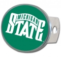 Michigan State Spartans Oval Hitch Cover