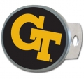 Georgia Tech Yellow Jackets Oval Hitch Cover