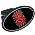 NC State Wolfpack Oval Hitch Cover