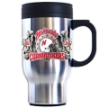 Nebraska Cornhuskers Stainless Steel 18oz Travel Mug