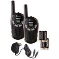 Cobra CXT85 2-Way Radios w/16 Mile Range, UHF/FM & Accessories