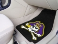 ECU Pirates 2pc Car/SUV/Truck Floor Mats