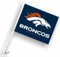 Denver Broncos NFL Car Flag