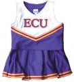 ECU Pirates NCAA College Youth Cheerleading Outfits-FREE SHIPPING