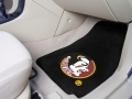 FSU Logo Universal 2pc Car Floor Mats