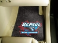 DePaul University Blue Demons Universal 2pc Car Floor Mats