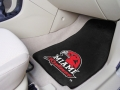 University of Miami Redhawks 2pc Car Floor Mats