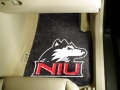Northern Illinois University Huskies Universal 2pc Car Floor Mats