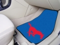 Southern Methodist University SMU 2pc Car Mats