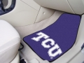 TCU Horned Frogs Universal 2pc Car Floor Mats