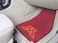 Minnesota Golden Gophers 2pc Car Mats