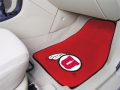 University of Utah Utes Universal 2pc Car Floor Mats
