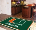 Miami Hurricanes NCAA Area House Rugs