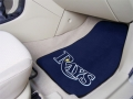 Tampa Bay Rays MLB Universal 2pc Car Floor Mats