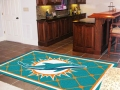 Miami Dolphins NFL Area House Rugs