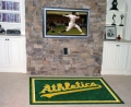 Oakland Athletics MLB Area House Rugs