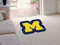 Michigan Wolverines Mascot Cut-Out Floor Mat