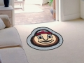 "Ohio State Buckeyes ""Brutus"" Mascot Cut-Out Floor Mat"