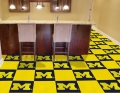 "Michigan Wolverines NCAA 18"" x 18"" Carpet Tiles"